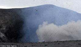 Πιο κοντά στο ηφαίστειο…πεθαίνεις