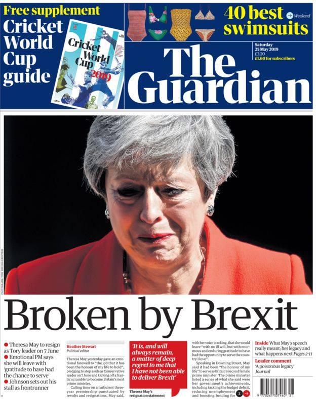Δεν κατάφερε το Brexit η Τερέζα Μέι