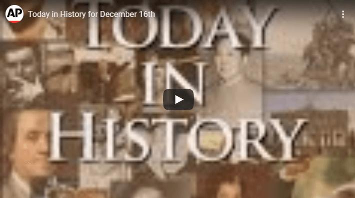 Ιστορίες της 16ης Δεκεμβρίου