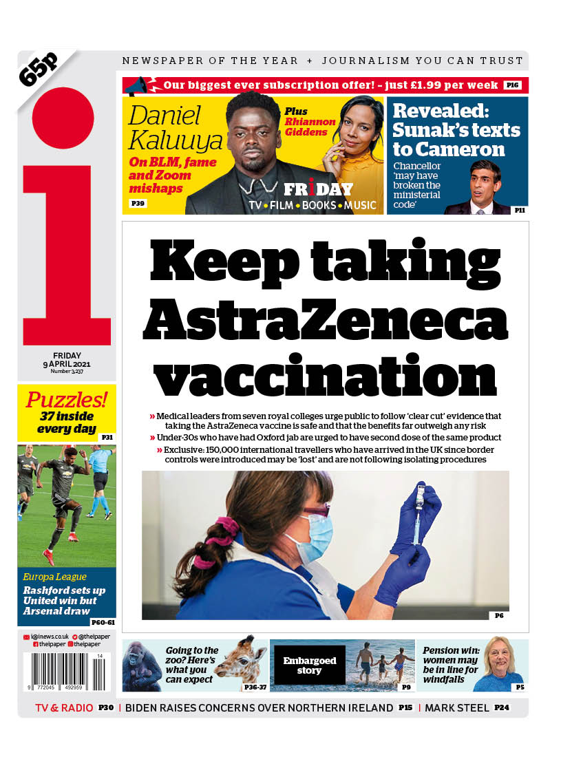 Οι Βρετανοι εμπιστευονται το εμβόλιο της AstraZeneca