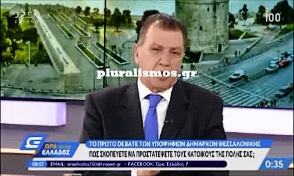 Ο Γιώργος Ορφανός στο debate του OPEN
